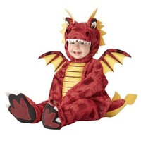 Red Infant Dragon Costume