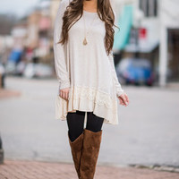 Each And Every Day Tunic, Oatmeal