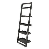 Winsome Wood 29525 Bailey Leaning Shelf Tier Etagere