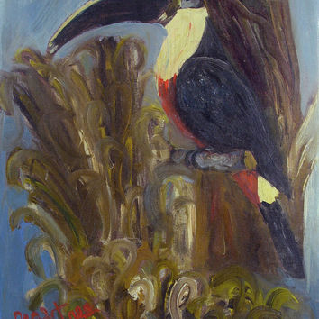 Modernist Toucan by Donna Crabtree