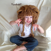 Boy Hats Lion Wig Gift Ideas for Boys Lion Costume Winter Clothes