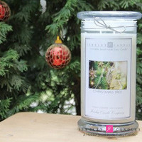 Christmas Tree Jewelry Candle