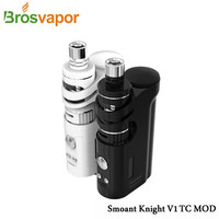 Original Cloupor Smoant Knight V1 Kit 1-60w Knight V1 TC Box Mod Talos V1 tank Cloupor E-Cigarette Knight Kit  Free shipping