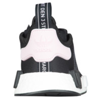 adidas Originals NMD R1 - Women's - Casual Running Sneakers - adidas Originals - Casual - Shoes - Women's - Black/White/Clear Pink | Roller Knit | Lady Foot Locker