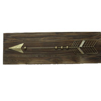 Arrow Wood Wall Home Decor
