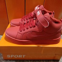 """""""Nike"""" Unisex Sport Casual High Help Sneakers Couple Plate Shoes"""