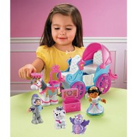 Fisher-Price Little People Royal Princess Coach Play Set