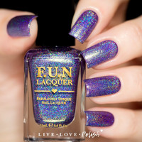 FUN Lacquer Rainy Day In Barcelona Nail Polish (Summer 2016 Collection)