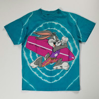 Bugs Bunny Patrol Size L T-Shirt, Bugs Surfer Tee Size L