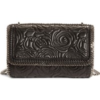 Stella McCartney Quilted Flowers Faux Leather Crossbody Bag | Nordstrom