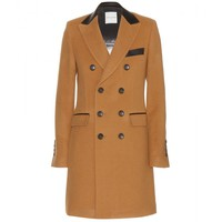 each x other - wool and cashmere coat