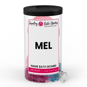MEL Name Jewelry Bath Bomb Tube