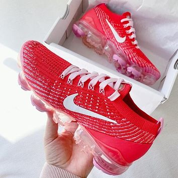Nike air vapormax flyknit Men's and women's sports shoes
