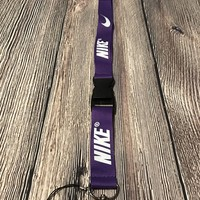 Purple Nike Lanyard