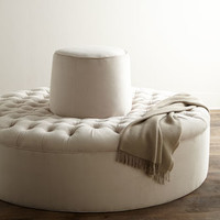 Old Hickory Tannery Audrey Tufted Conversation Settee
