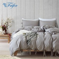 Cool Simple Style Bedding Sets Bedroom Knot Bed Set Bedclothes Duvet Cover Sheet Bedspread Comforter Pillowcase Twin/Queen/King SizeAT_93_12