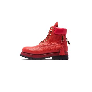 Buscemi Site Boot - Red