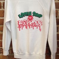 Vintage 1986 Little Shop Of Horrors Sweatshirt