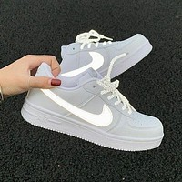 LV Louis Vuitton x NIKE Air force 1 AF1 hot sale men and women low top basketball shoes sneakers-5