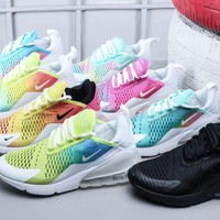 Nike Air Max 270 Rainbow Sneakers - 8 colors