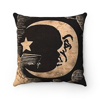 Moon Spun Polyester Square Pillow