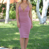 Jennifer Dress - Mauve