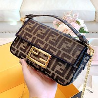 Fendi Baguette Shoulder Bag Messenger Bag
