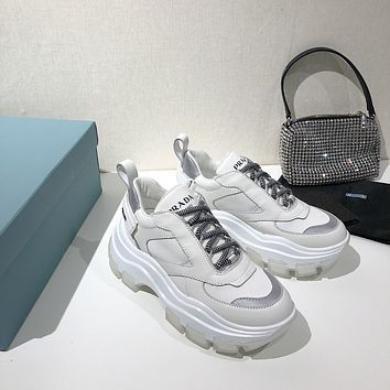 prada womans mens 2020 new fashion casual shoes sneaker sport running shoes 20