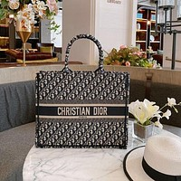 DIOR Oblique Book Tote Bag