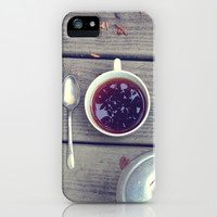 Morning Perk iPhone & iPod Case by Olivia Joy StClaire