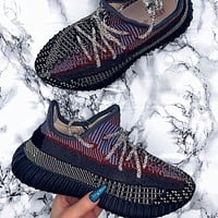 Adidas Yeezy Boost 350 V2 Yecheil Reflective Men's and Women's Sneakers Shoes