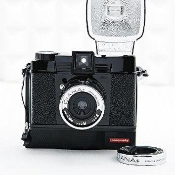 Lomography Diana F+ Instant Camera in Black - Urban Outfitters