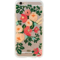 Clear Peach Blossom iPhone 6 Clear Case by RIFLE PAPER Co. | Imported