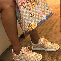 LV Louis Vuitton Women Fashion Frontrow Sneaker