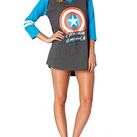Captain America Sleep Shirt | rue21