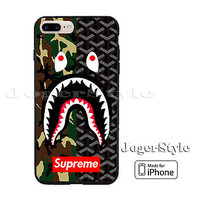 Best Hot Bape Camo Suprime Logo Pattern Print On Hard Case iPhone 6s 7 7+