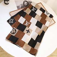 Onewel LV New fashion monogram print women scarf