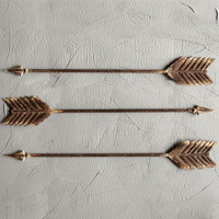 Metal Arrow Wall Decor