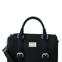 Jenna Kator - Cascade Satchel - Midnight Black