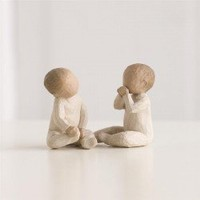 Demdaco Willow Tree Two Together Figurines - $17.50