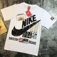 NIKE Tide brand men's and women's loose casual fashion short-sleeved T-shirt F-Great Me Store