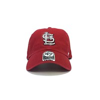 SALE - St. Louis Cardinals '47 Brand Fitted Cap + Crystals - Size Small (7 1/8)