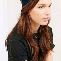 Midnight Solstice Velvet Headband-