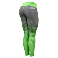 Six Deuce Green Halftone Gen.2 Fitness Leggings