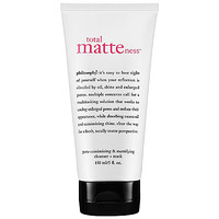 philosophy Total Matteness™ Pore-Minimizing & Mattifying Cleanser Mask (5 oz)