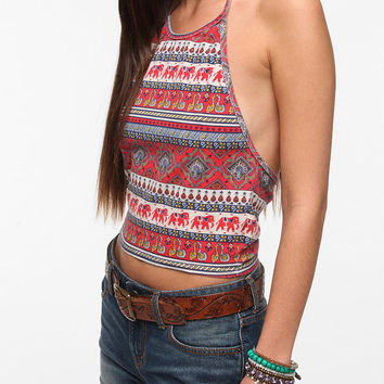 Truly Madly Deeply Cropped Halter Top