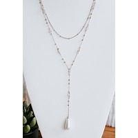 Pearl & Stone Layered Necklace