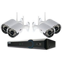 Lorex 4-channel Stratus Cloud Connect 1tb Dvr With 4 Real-time Wireless Cameras