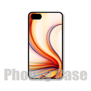 Abstract Orange Fractal Iphone 4, 4s, 5, 5s, 5c Personalized iPhone Case #223