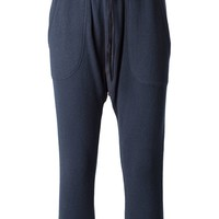 Nlst dropped crotch cropped track pants